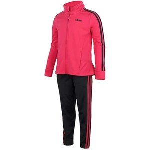 adidas Girls' Tricot Track Suit Jacket Pants 4T